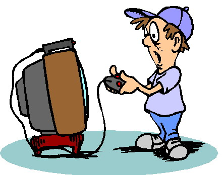 Video Game Clipart.