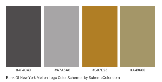 Bank Of New York Mellon Logo Color Scheme » Brand and Logo.
