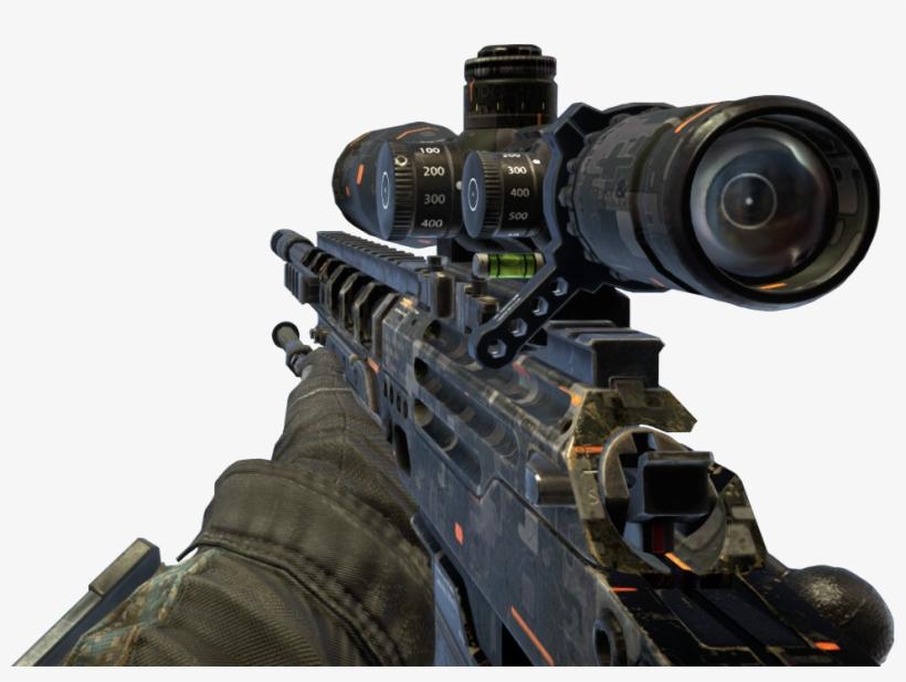 Black Ops 2 Sniper Png For Kids.