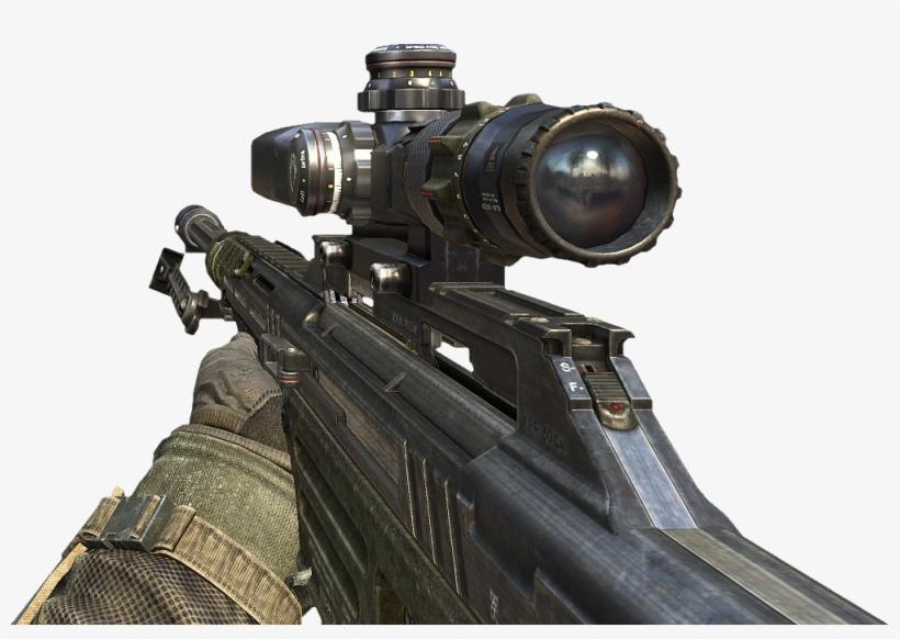 Bo2 Sniper Png.
