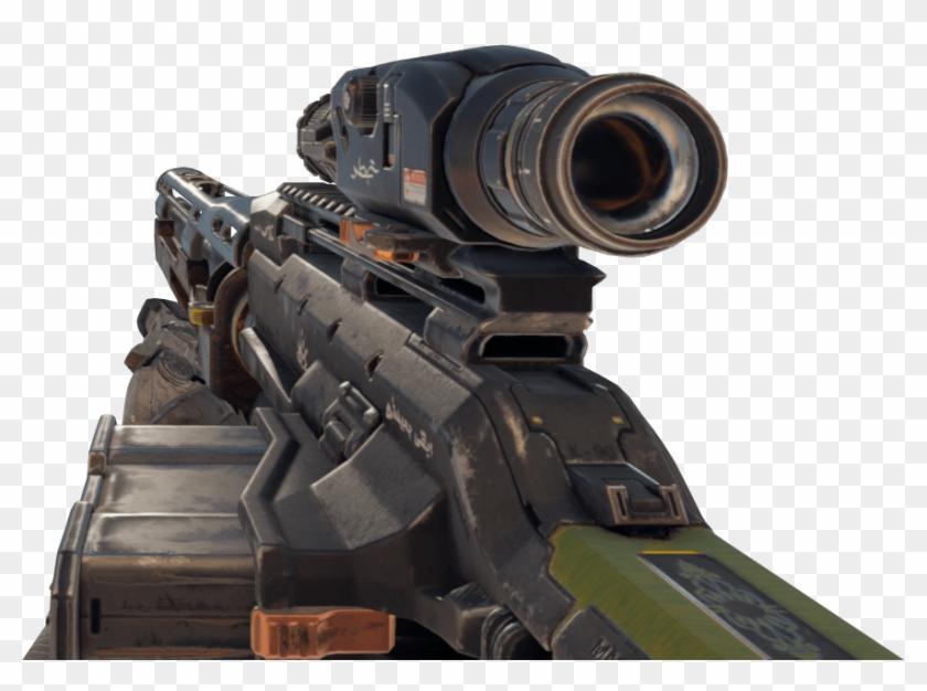 Cod Bo4 Sniper Png, Transparent Png.