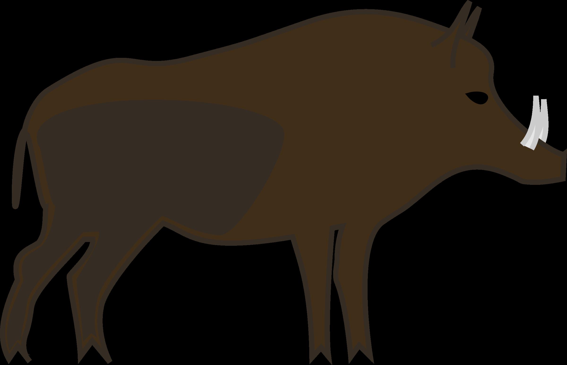 Boar,Warthog,Terrestrial animal,Suidae,Snout,Clip art,Livestock.