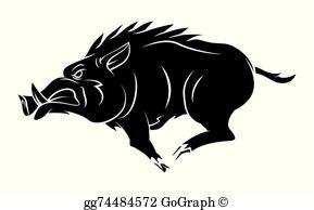 Hog Clip Art.