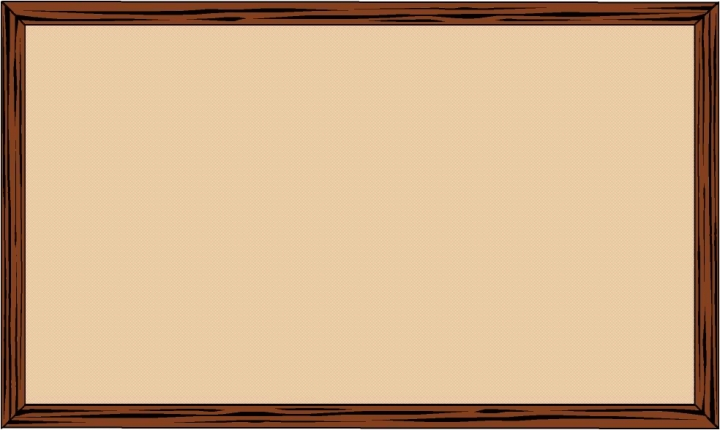 Bulletin board clipart images.