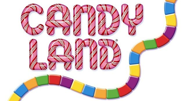 Free candyland board game clipart.
