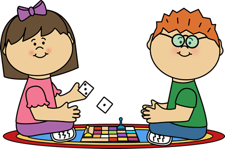 Kids Playing Board Game Clipart & Free Clip Art Images #29397.