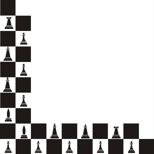 Board Game Pieces Clipart Black And White.