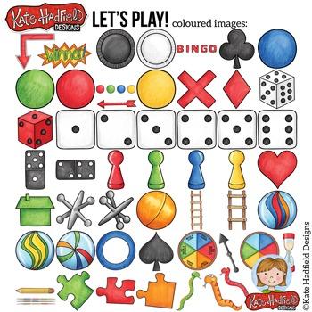 Board Games Clip Art: