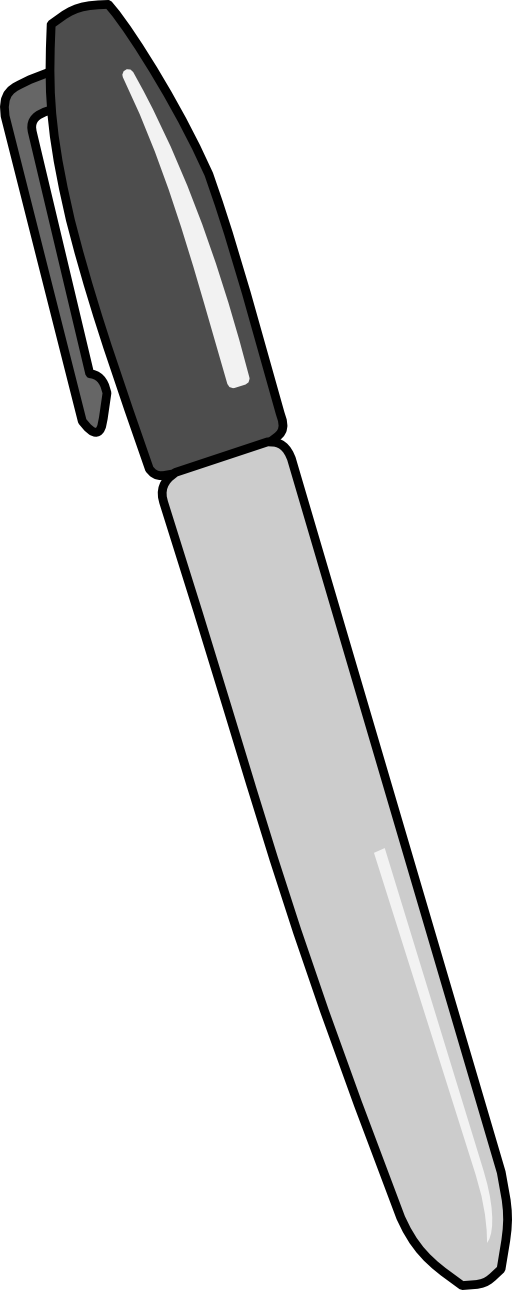 Whiteboard pen clipart.
