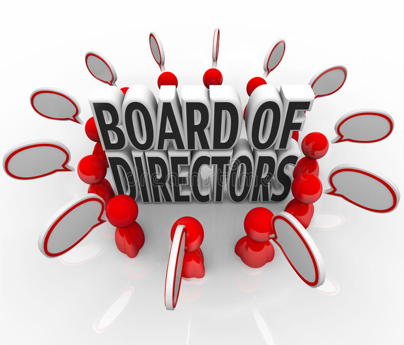 Board Directors Stock Illustrations.