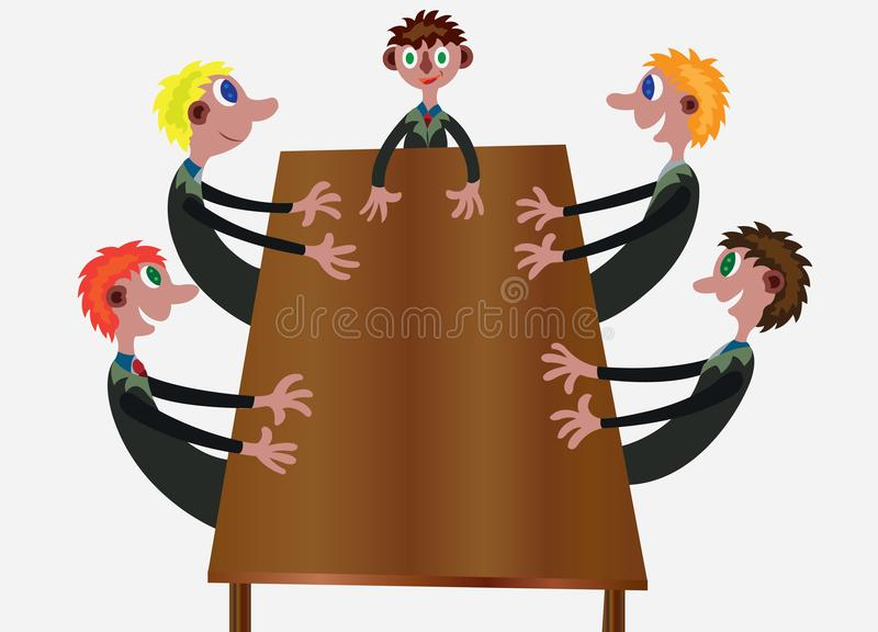 Board Members Stock Illustrations.