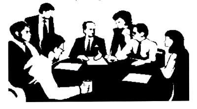 Board of Directors Clip Art.
