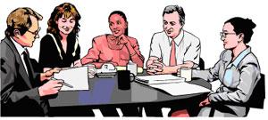Clipart board of directors.