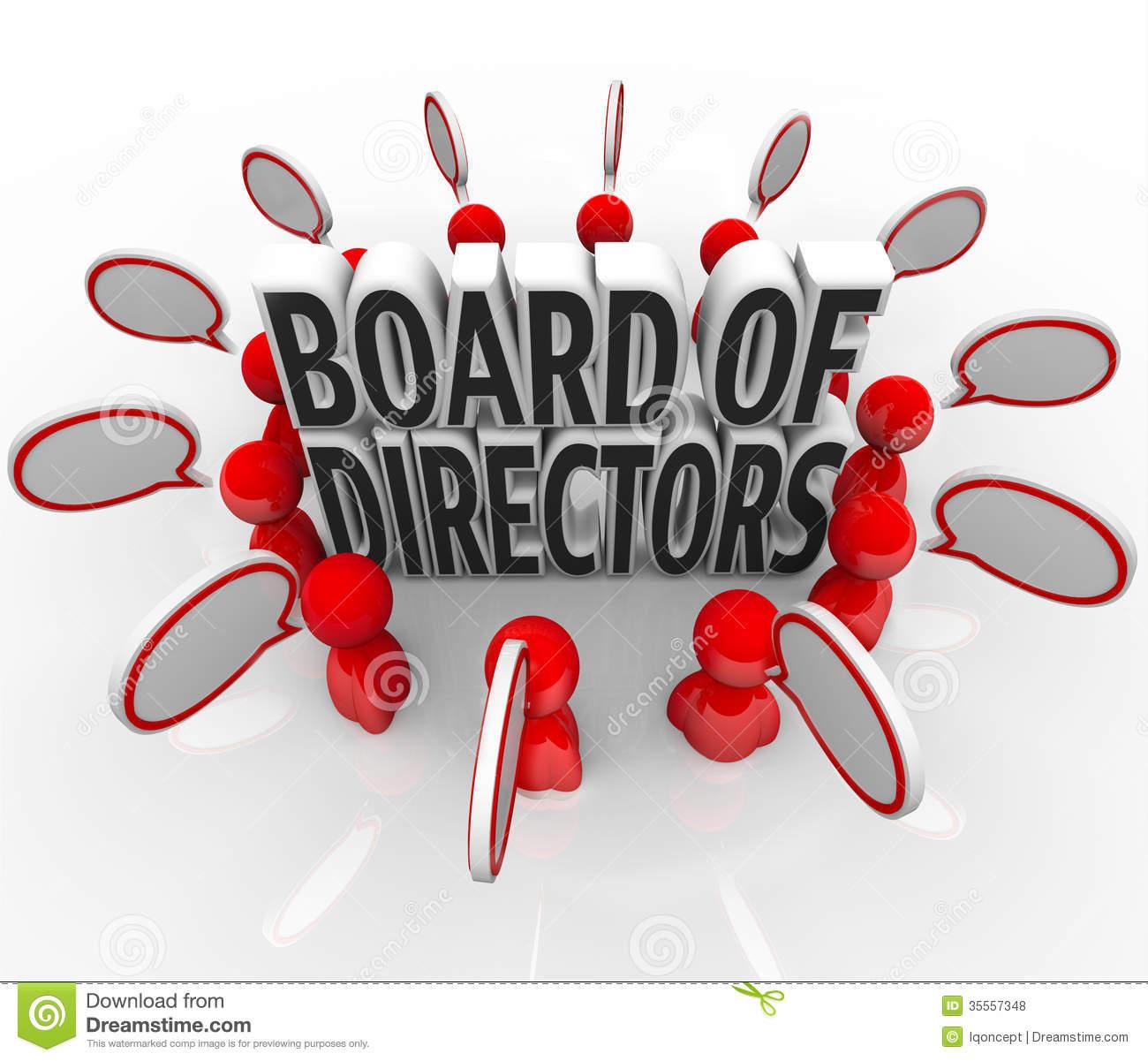 Board Of Directors Clipart.