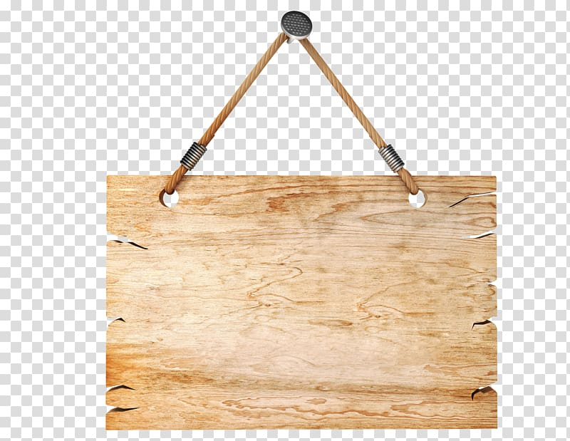 Brown and gray wooden board, Hanging illustration , Tag board.
