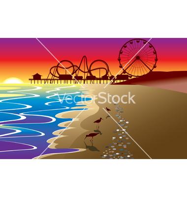 Boardwalk Clip Art.