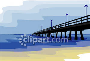 Boardwalk clip art.