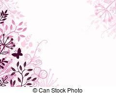 Background border backgrounds borders design pink black Clipart.