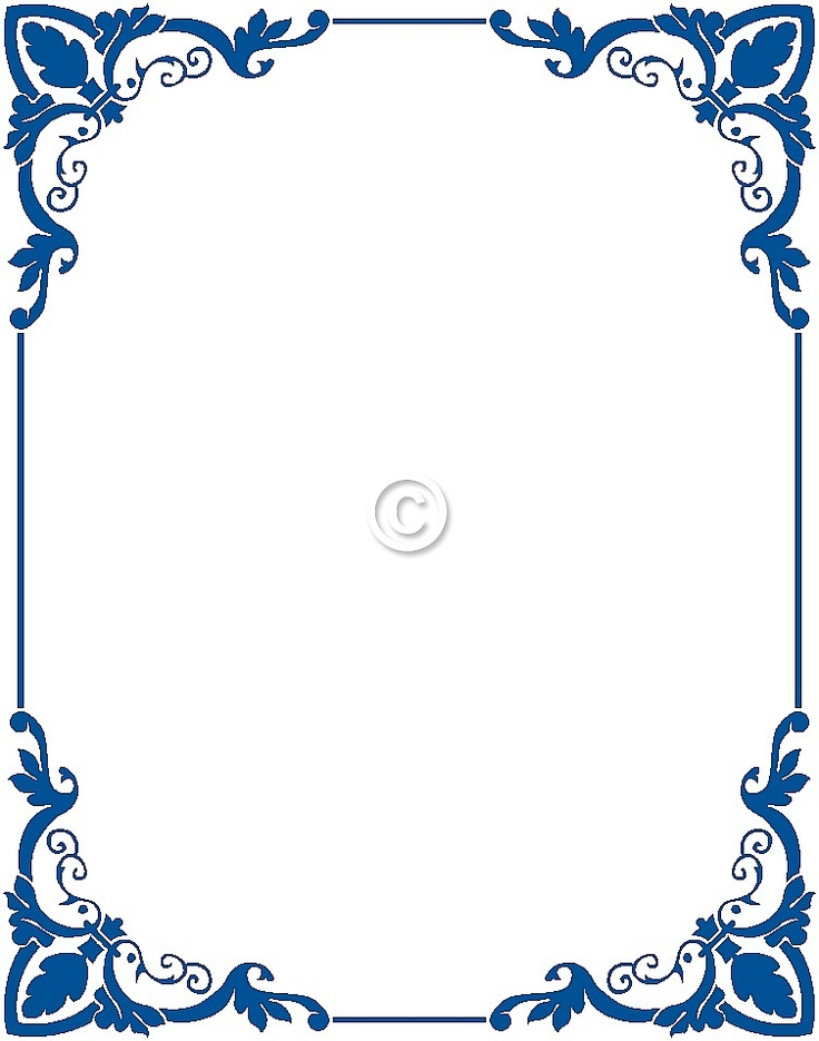 free color clipart photo frame borders #19
