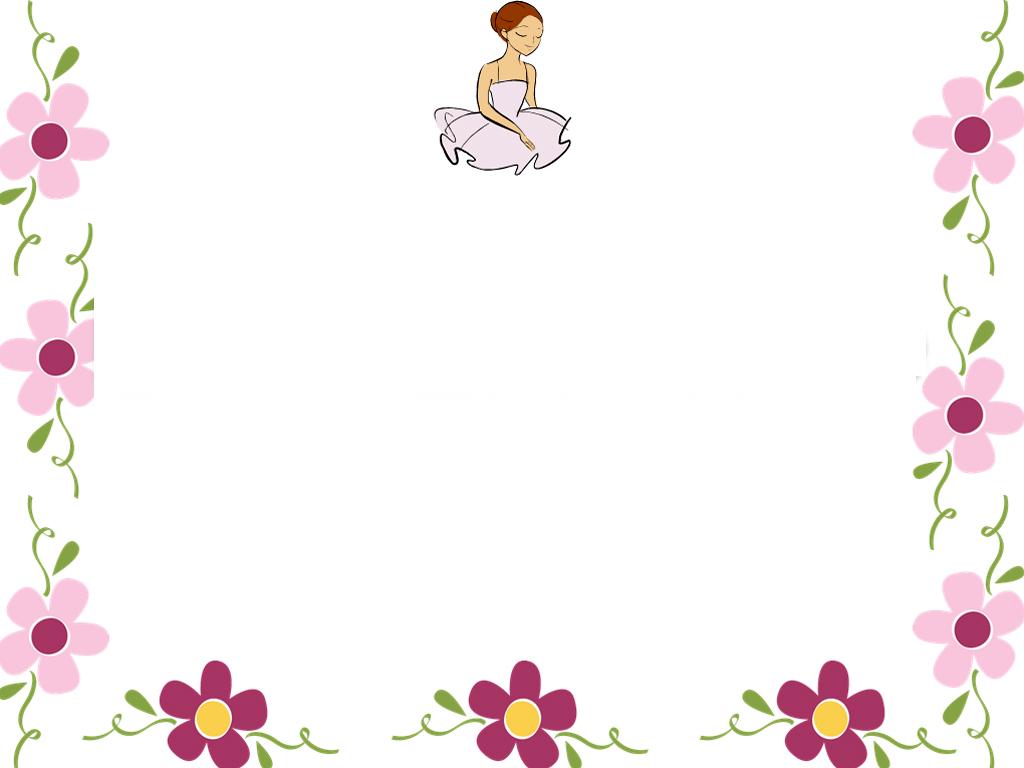 Similiar Cute Flower Border PowerPoint Backgrounds Keywords.