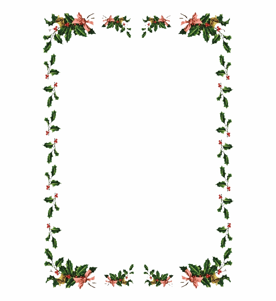 Free Christmas Frames And Borders Border Png.