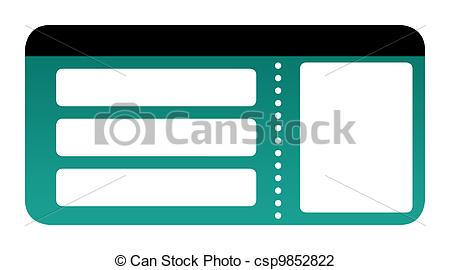 Boarding pass clipart » Clipart Station.