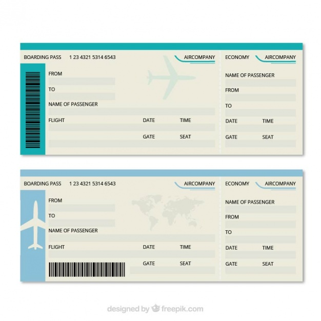 boarding pass free template.