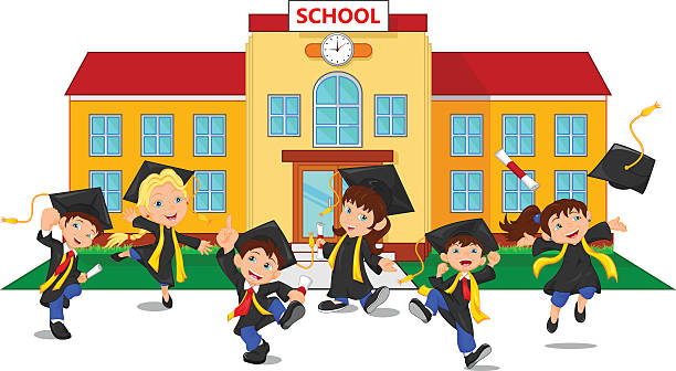 Residential School Clipart.