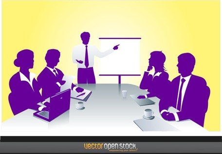 Business Meeting Clipart Picture Free Download.