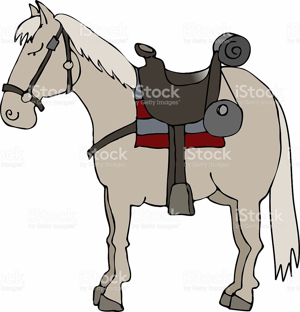 Riderless Horse stock vector art 90167218.