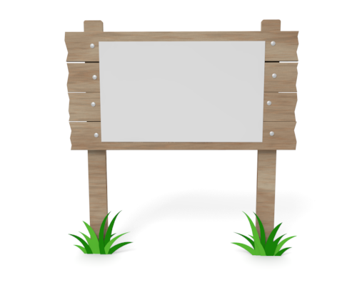 Wooden Board Clipart.
