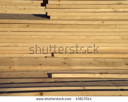 Lumber Boards Clipart.