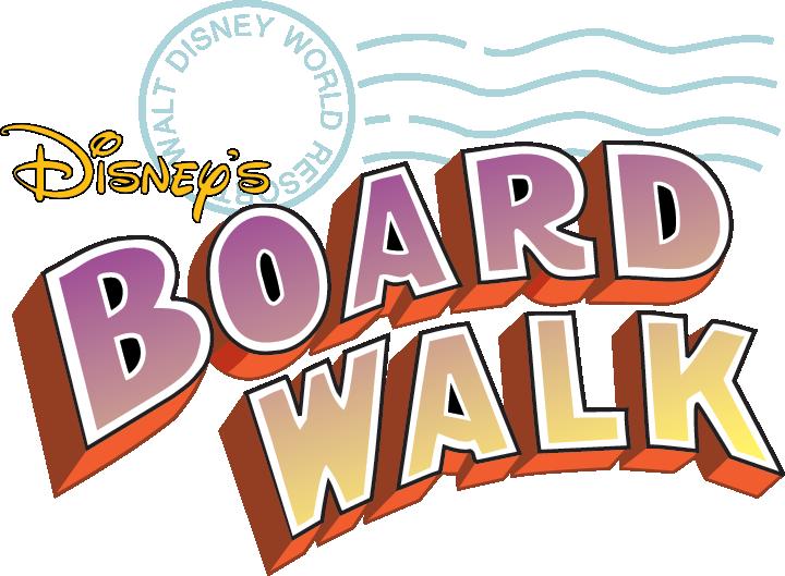 Disney boardwalk clipart.