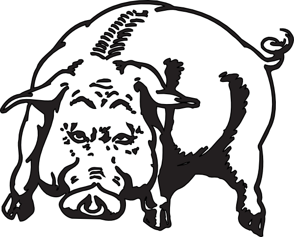Boar Clip Art at Clker.com.