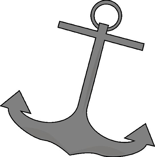 Anchor Boat Clip art.