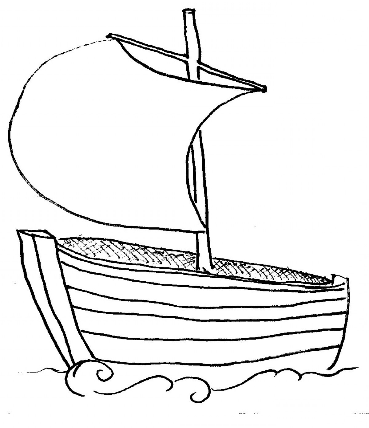 Yacht Clipart Black And White.