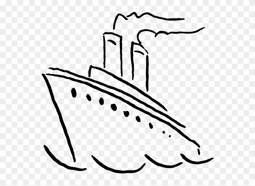 Boat Black And White Ship Clip Art Black White Free.