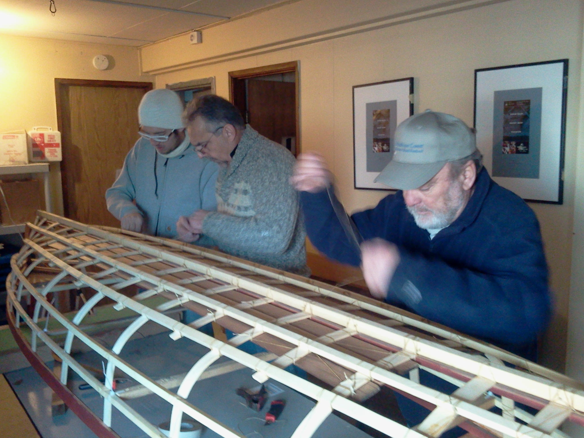 Boat Building Courses. Build a Lightweight Canoe or Rowboat.