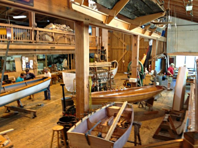 Introduction to Wooden Boat Building Course.