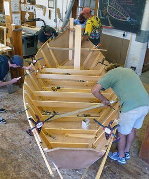 How to choose the best boatbuilding course..