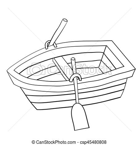Row Boat Clipart And Stock Illustrations. #109511.