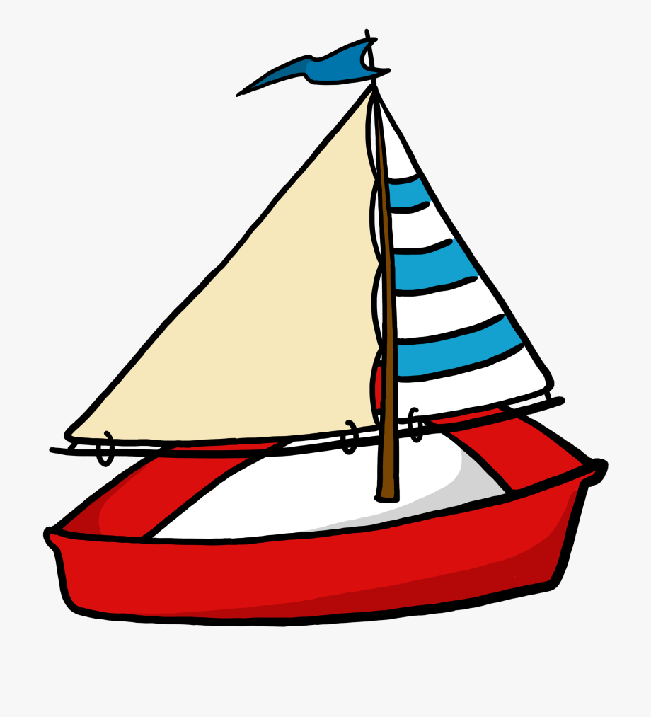 Simple Sailboat Clipart Free Images.