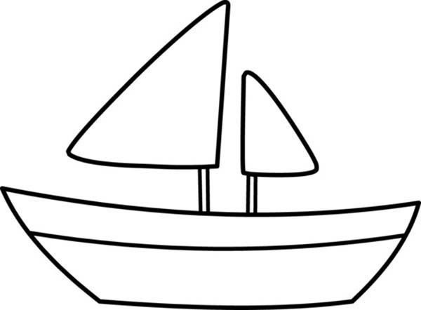 Boat Coloring Pages.
