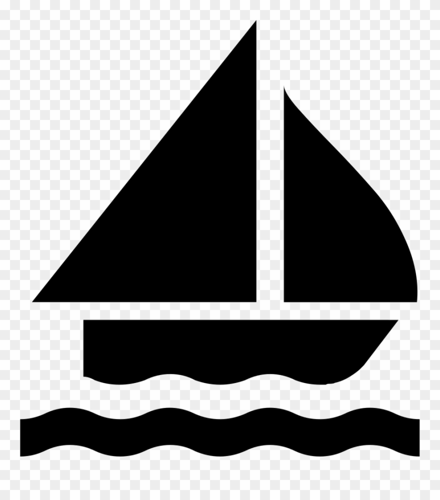 Sailing Boat Silhouette Svg Png Icon Free Download.