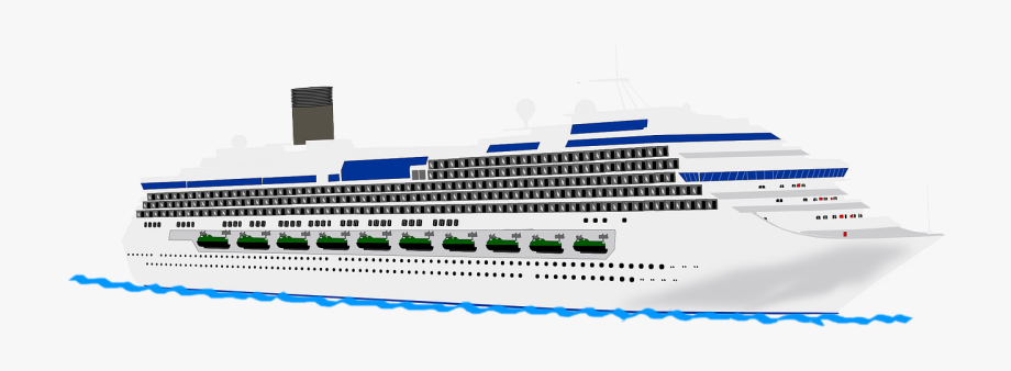 Cruise Ship Free To Use Clipart.