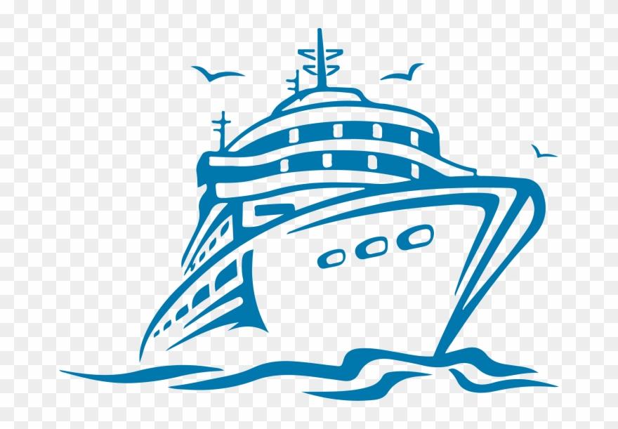 Sailboat Awful Cruise Ship Clip Art Image Design Ncl.