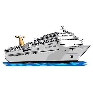 Cruise Ship Clipart.
