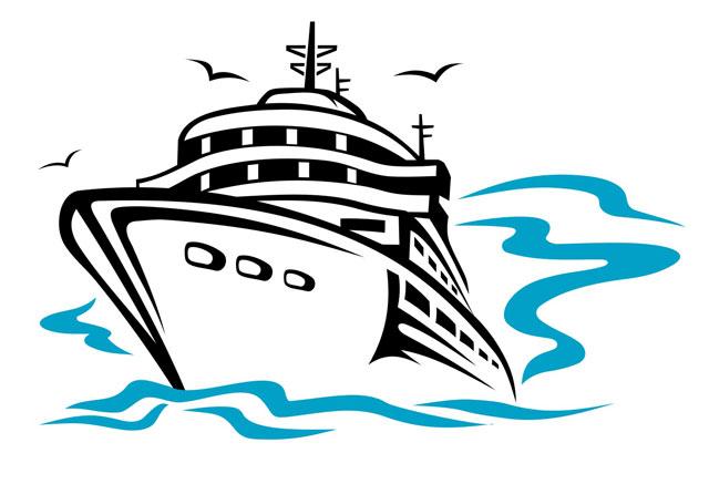 Animated Cruise Ship Clipart.