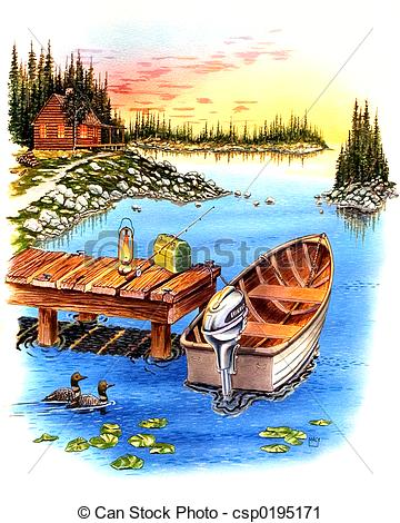 Clipart of Peaceful.