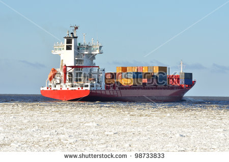 Vessel In Ocean Stock Photos, Royalty.